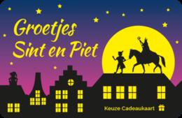 Sinterklaas Keuze Cadeaukaart